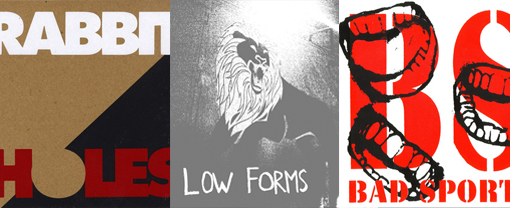 Webstore Wednesday: Big Action Records – Rabbit Holes, Low Forms, Bad Sports