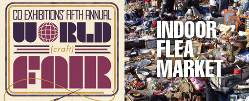 World Craft Fair – Saturday 12/13 & Indoor Flea Market – Sunday 12/14