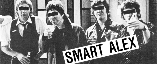 Record Store Day Release – Reissued 1979 Smart Alex 7″